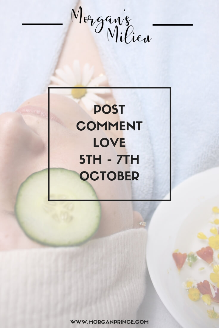 Post Comment Love 5th - 7th October | Join Stephanie and I for our weekly linky!
