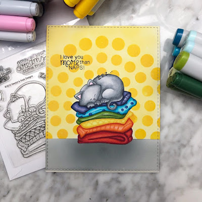 I love you more than naps by Kay features Newton's Naptime by Newton's Nook Designs; #newtonsnook