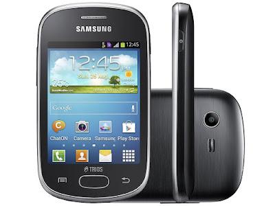 Smartphone Samsung Galaxy Star Trios