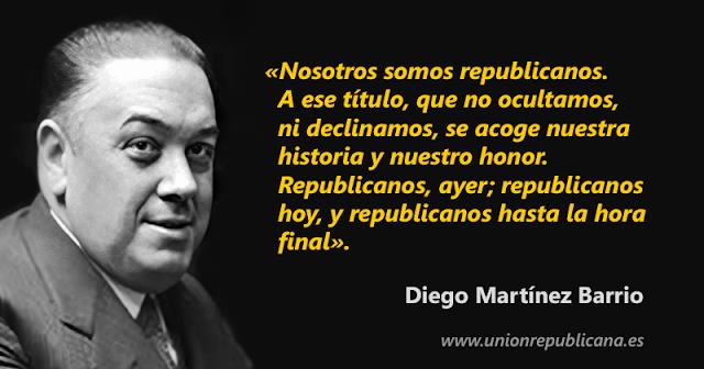 Mensaje de Diego Martínez Barrio el 14 de Abril de 1957