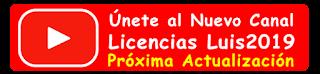Nuevo canal Luis2019