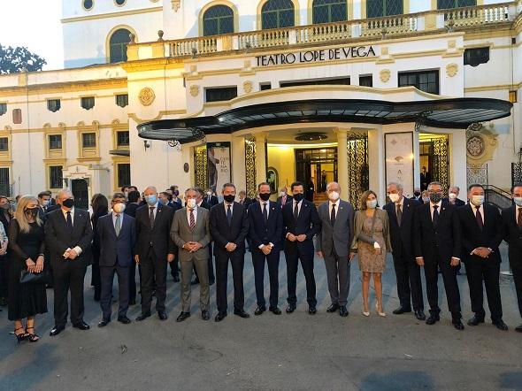El presidente de la Diputación de Málaga reivindica la dimensión social, cultural y económica de la Semana Santa