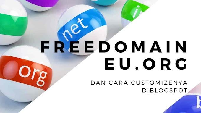 Eu.Org Gratis Domain Dan Cara Buatnya Serta Tutorialnya Disini | EU ORG invite