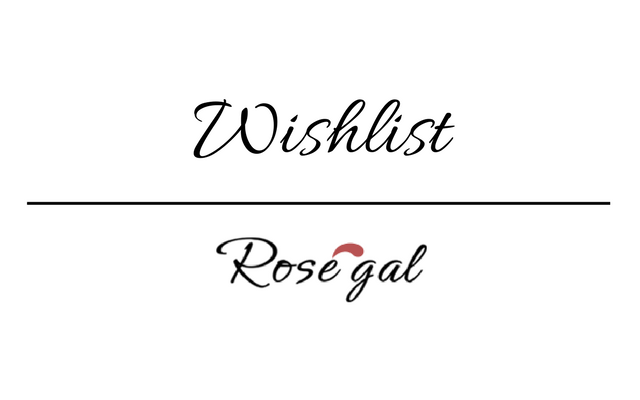 Wishlist: Rosegal