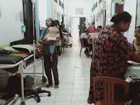 Over Kapasitas, Pasien Anak RSUD Batara Siang Pangkep Terpaksa Dirawat di Lorong