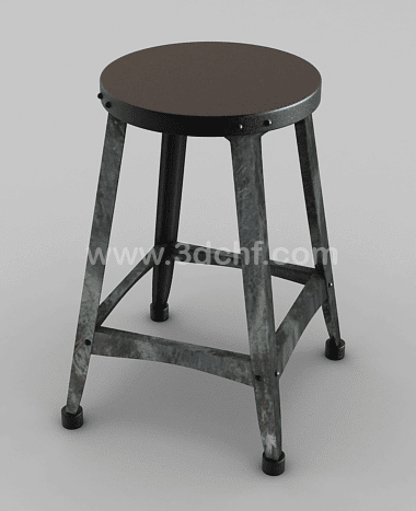 vintage chair free 3d model