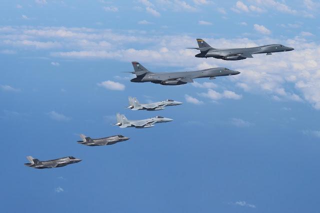 USAF show of force North Korea