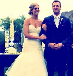 Max Scherzer And His Wife Erica On Their Wedding Day