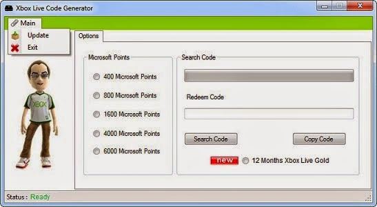 Xbox live gold codes generator online youtube.