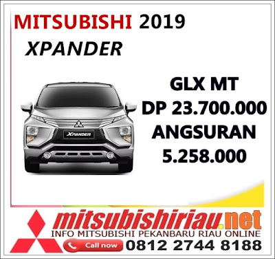 Kredit DP Ringan Xpander GLX Manual Pekanbaru Riau April 2019