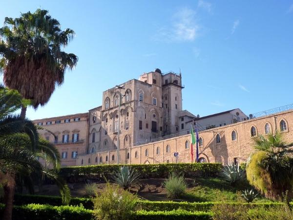 palazzo reale-palazzo dei Normanni-Palermo-Regione