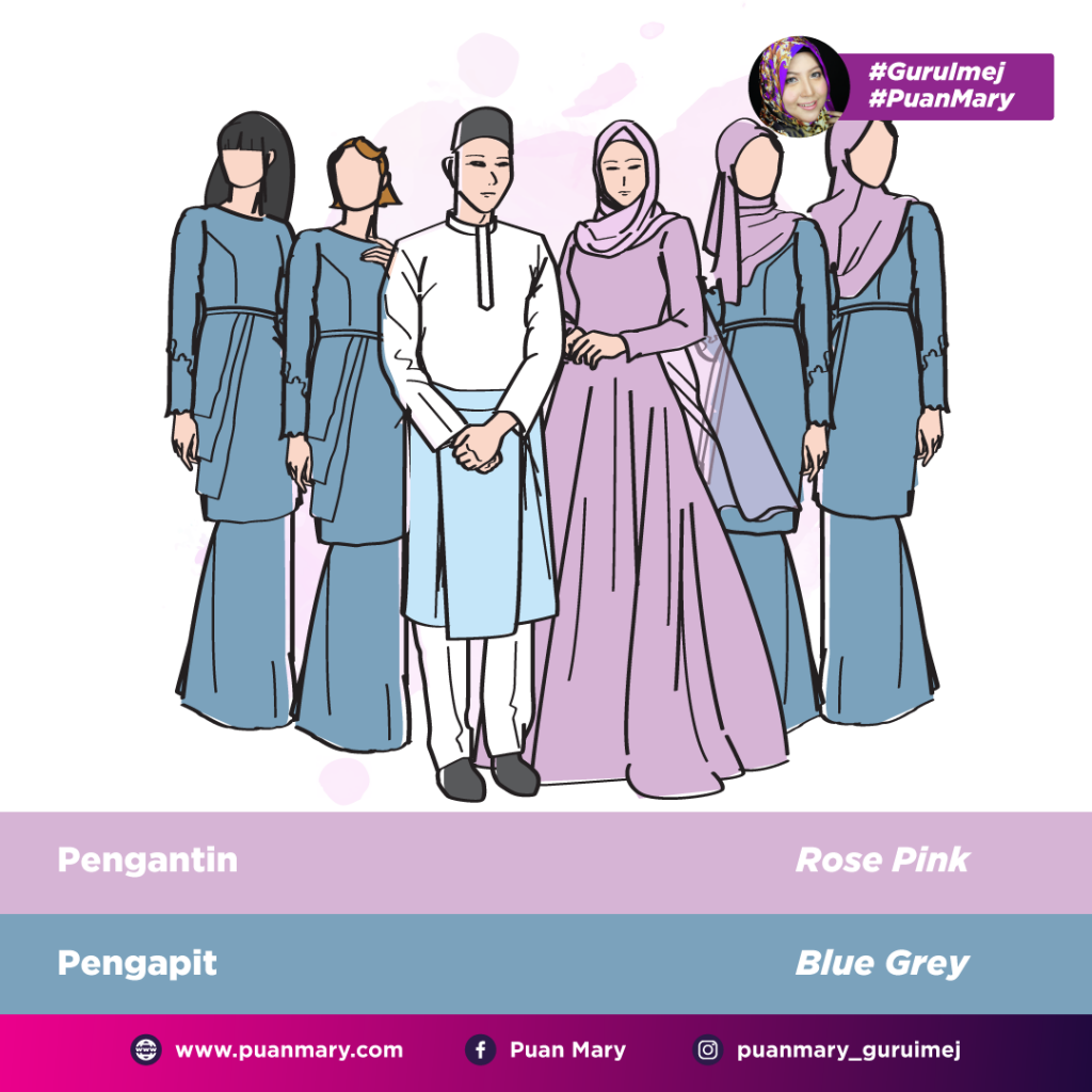 9 Idea Pilihan Warna Baju Bridesmaid Supaya Tidak Overshadow