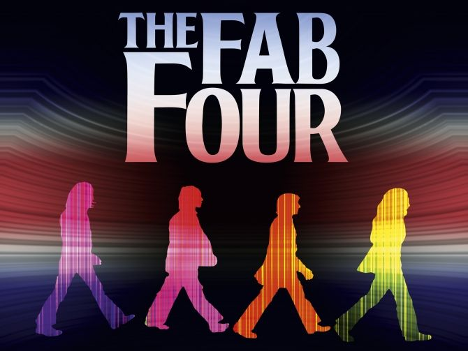 "Historia The Beatles (Fab Four): ""A,B,C..."" THE BEATLES"