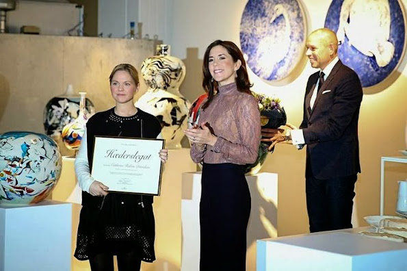 Crown Princess Mary of Denmark attended the opening of Royal headquarters in Glostrup