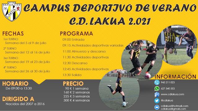 Campus Deportivo CD Lakua 2021