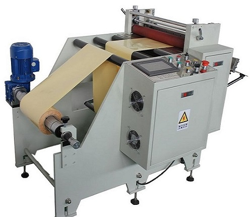 Semi Paper Roll Cutting Machine