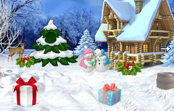 Play 5nGames Escape Game Santa…