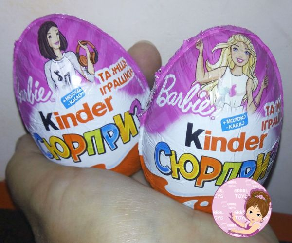 Barbie Kinder Egg 2019: New Toy Collection for Girls