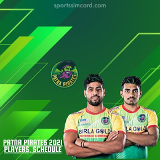 2021 Patna Pirates Players List, Matches Schedule, Stats, Records
