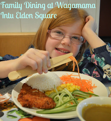 Children's menu at Wagamama - a review