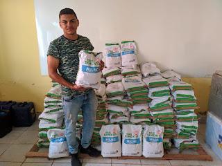AGRICULTURA: DISTRIBUIÇÃO DE UMA TONELADA DE SEMENTES DE MILHO COMEÇA NESTA SEGUNDA-FEIRA EM BOM JARDIM