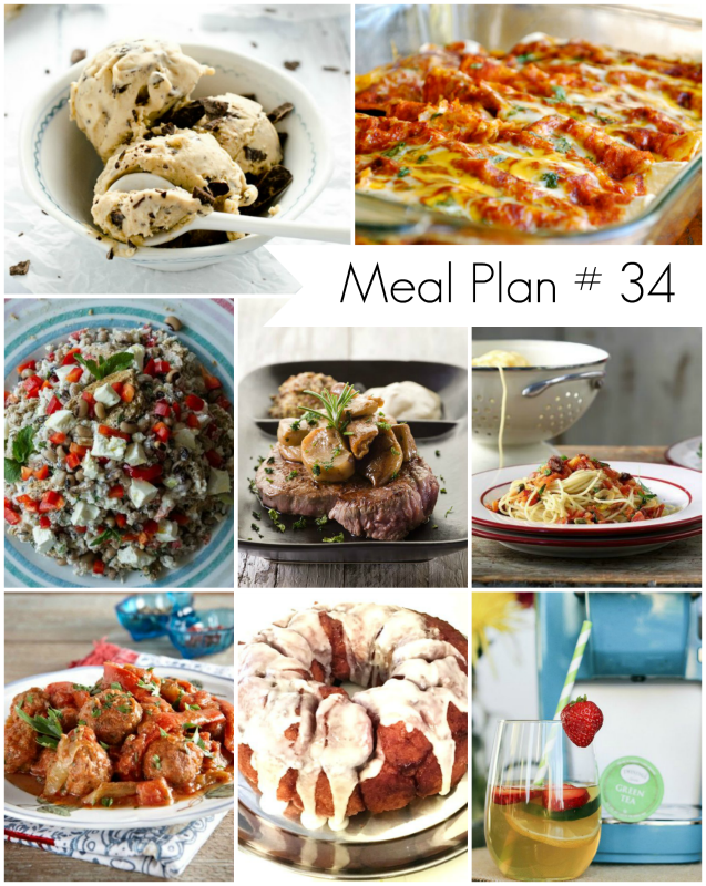Ioanna's Notebook - Weekly Meal Plan #34 - Delicious family recipes