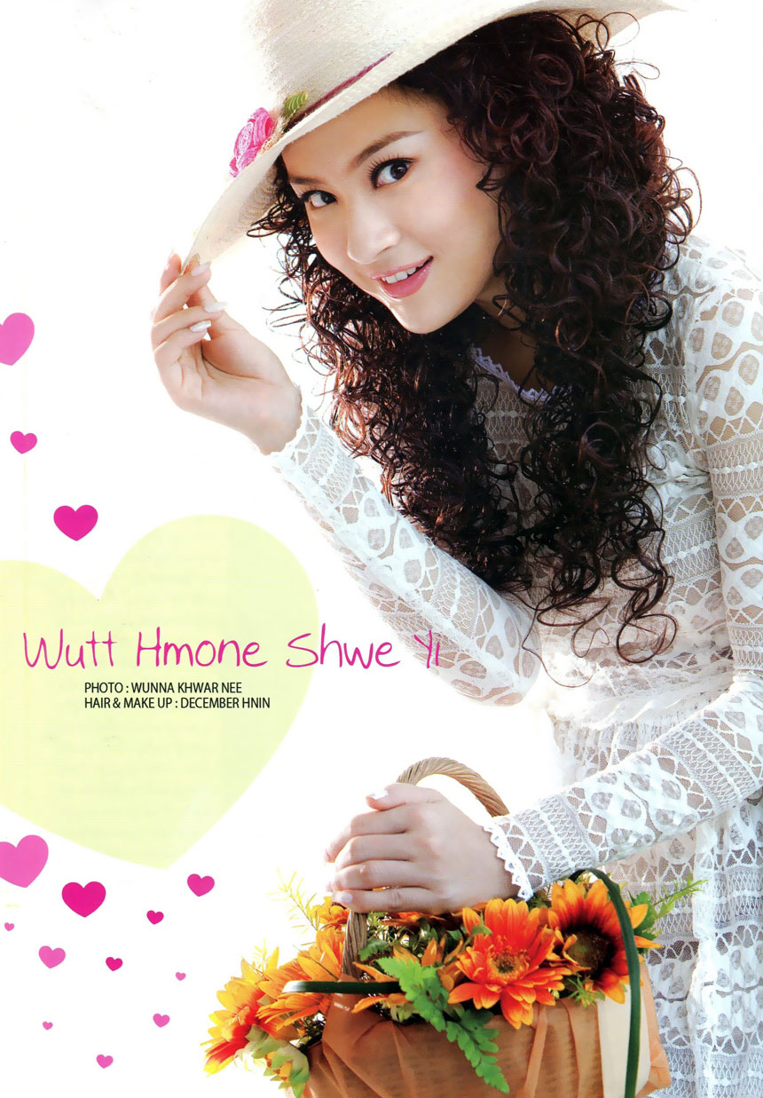 Myanmar Beautiful Model: Hnin Htet Htet Wais Lovely