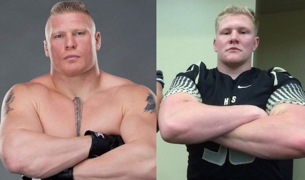 WWE: AT 22 YEARS Parker Boudreaux IS THE NEXT BROCK LESNAR
