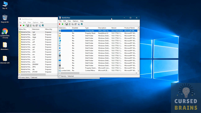 Customize Right Click Context Menu Two Software Open Shmnview x64 Shexview x64