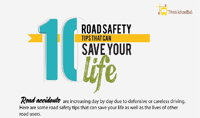 10 Road Safety Tips That Can Save Your Life #infographic