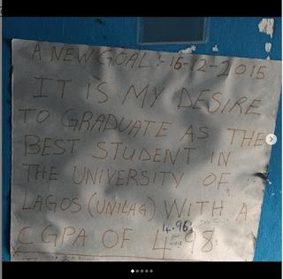 UNILAG Best Graduating Student