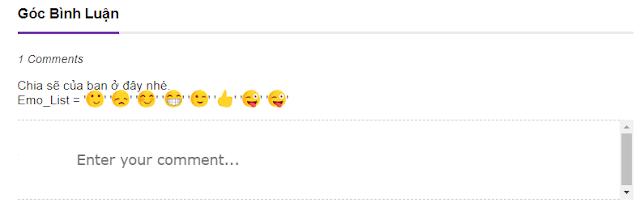 Bộ icon emoji siêu chất cho bình luận blogger