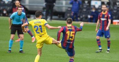 تقرير مباراة برشلونة أمام قادش الدوري الاسباني