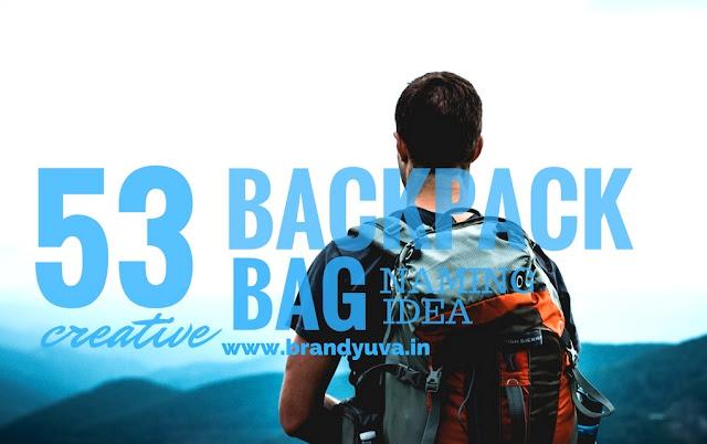 creative backpack bag brand names idea