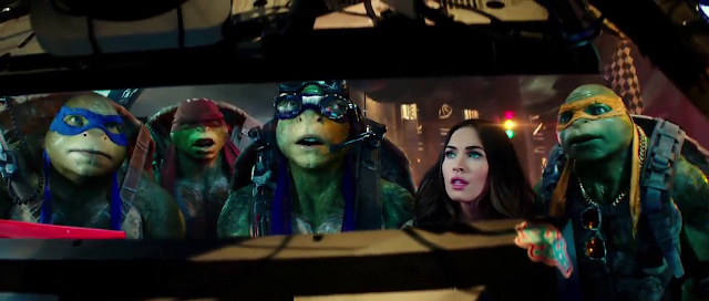 Megan fox tmnt 2 bts 8
