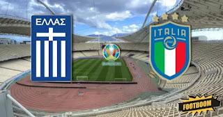 Италия – Греция  смотреть онлайн бесплатно 12 октября 2019 прямая трансляция в 21:45 МСК.
