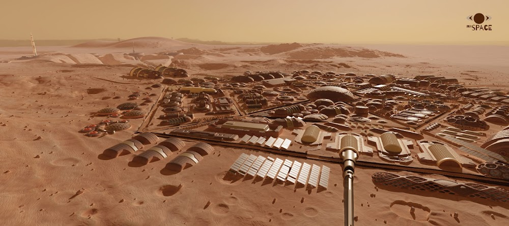 Mars colony for 1000 people by InnSpace team for Mars Colony Prize contest