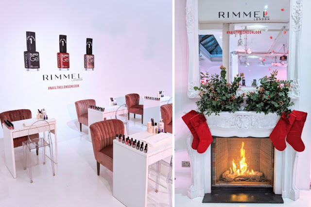 rimmel nail the london look nail bar pop up