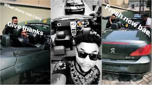 Oritsefemi new car