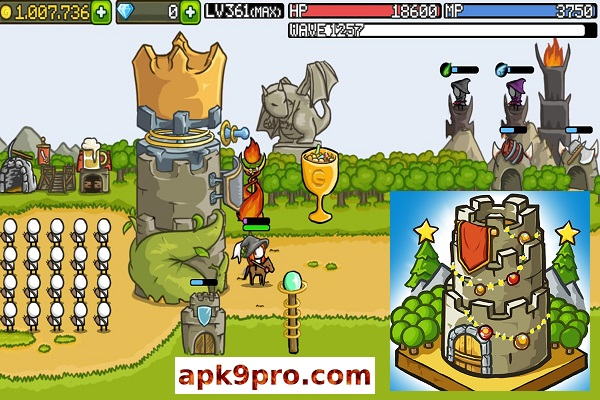 Grow Castle v1.31.11 Apk + Mod (File size 40 MB) for android