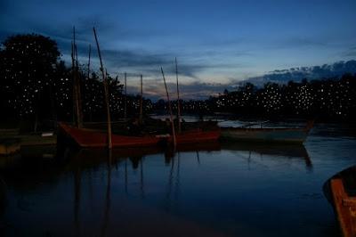 Taman Kelip-Kelip Kampung Pulau Tempat menarik di kelantan waktu malam