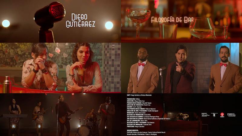 Diego Gutiérrez - ¨Filosofía de bar¨ - Videoclip - Director: Maysel Bello Cruz. Portal Del Vídeo Clip Cubano. Música cubana. Boleros y Canciones. CUBA