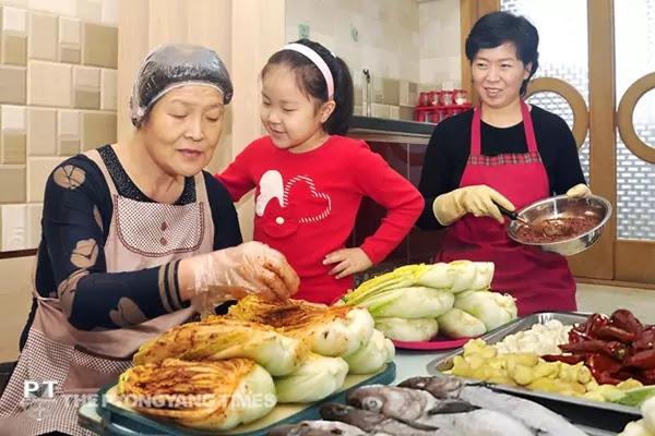 Winter kimchi-making season