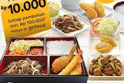 Promo Hokben Dapat Potongan Diskon Rp.10.000 Via GoFood Periode 23 - 31 Maret 2020
