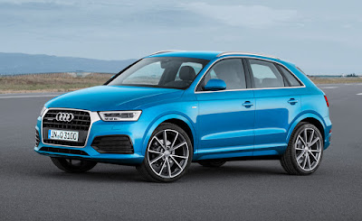 Audi Q3 SUV side view Wallpaper