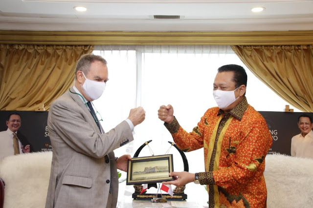 Terima Duta Besar Italia, Bamsoet Bahas Kerjasama Pembangunan Sirkuit F1 di Bali