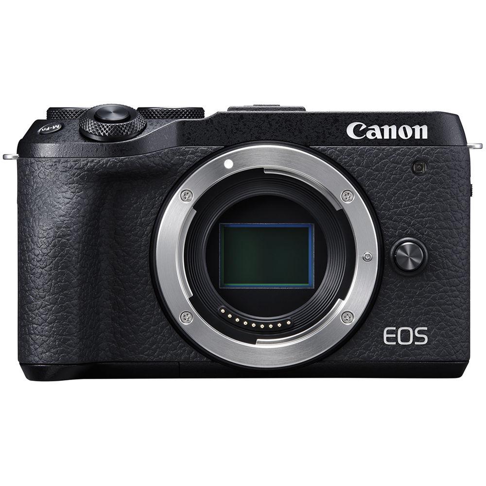 Canon EOS M6 Mark II, вид спереди