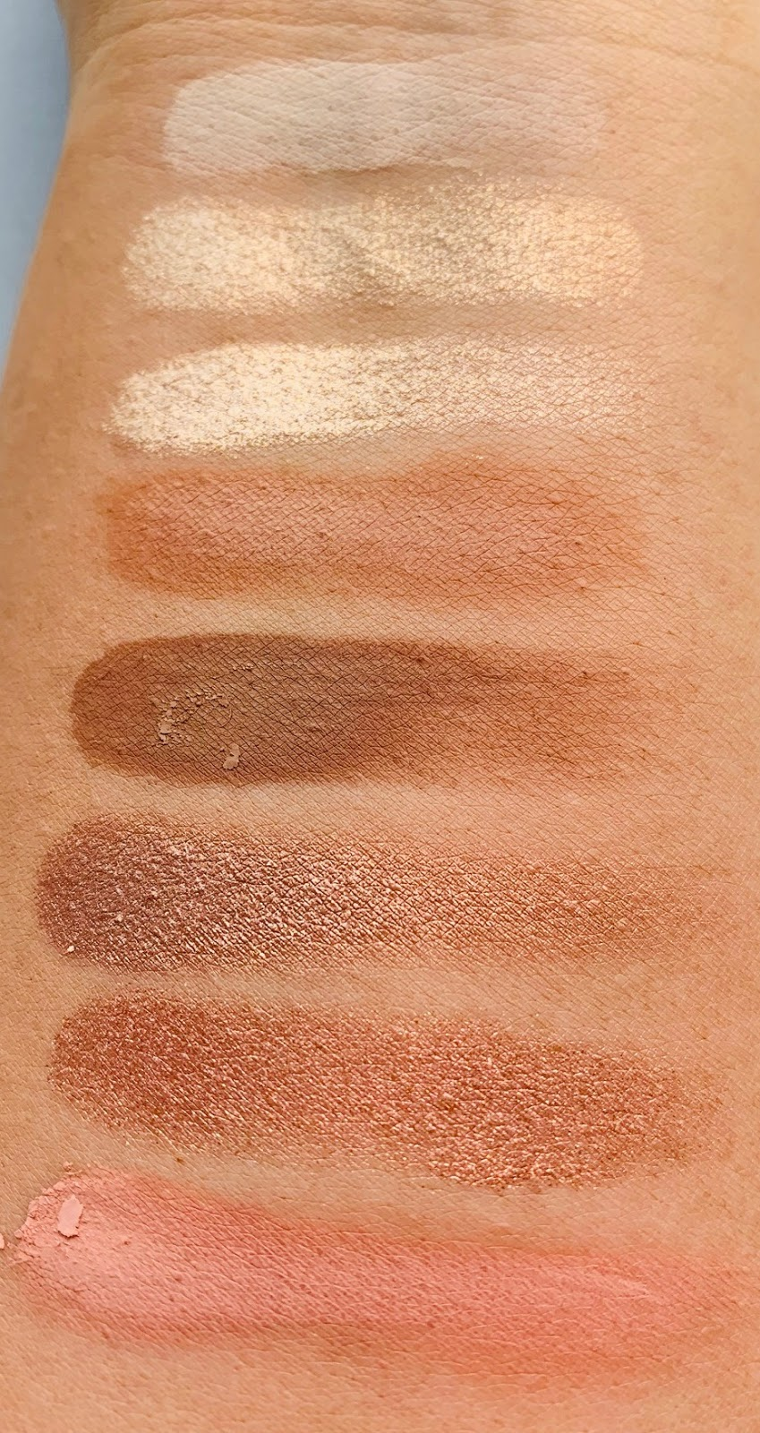 Too Faced The Natural Nudes Skin-Centric Eyeshadow Palette Review & Swatches