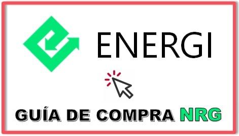 Cómo y Dónde Comprar Criptomoneda ENERGI (NRG) Tutorial Actualizado