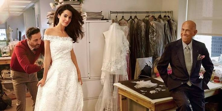 Amal-Alamuddin-Oscar-de-la-Renta-wedding-dress